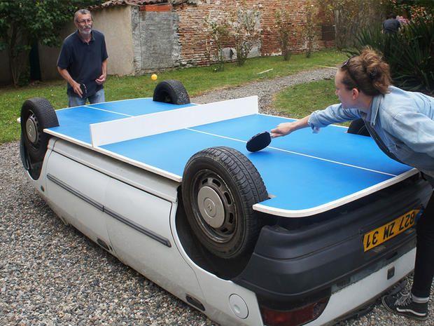 Il tavolo da ping pong più assurdo del mondo - Coolmix - Lifestyle - Marieclaire