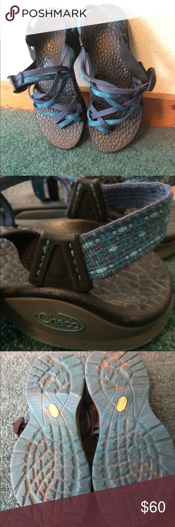 Chaco Sandals Worn only a couple of times. Add tô a bundle and I'll offer you a private discount! Chaco Shoes Sandals