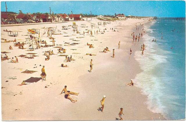 Panama City Beach 50s beach by stevesobczuk, via FlickrTravel Beautiful Beach, Panama Cities Beach, Postcards Memories, Beach 50S, 50S Beach, Strips Memories, Panama City Beach