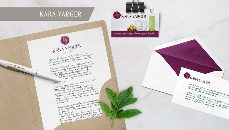 Branding for Kara Yarger a holistic health mentor who helps women overcome IBS, based in Nashville. Created by @FreshSageSA. . . #branding #Logo #Moodboard #Pattern #socialtemplates #brandingdesign #businesscards #identitysystem