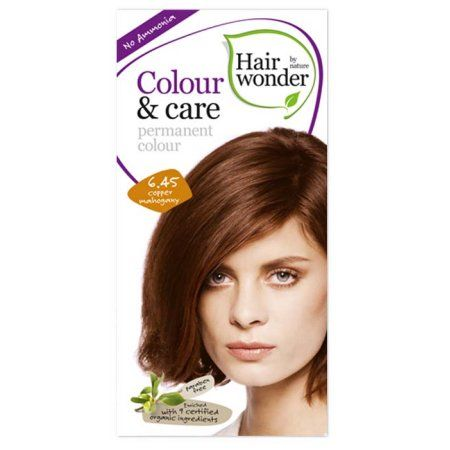 Hair Wonder Color Care Copper Mahogany 6 45 Hair Color One