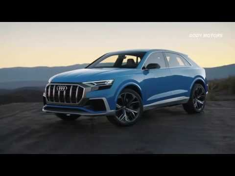 All New Audi Q8 2018 Hybrid 3.0 L Hybrid Prices around 90.000 Euro - YouTube