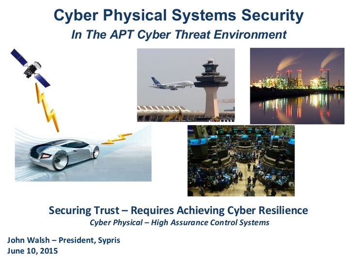Presentation by John Walsh, President of Sypris Electronics given at Boston Security of Things MeetUp June, 2015.