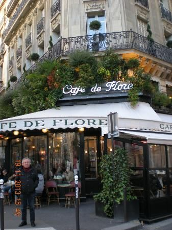 Cafe de Flore: Entrata principale