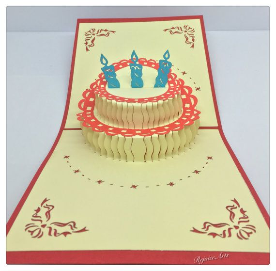 7 Best Birthday Card Images On Pinterest Pop Up Anniversary Cards