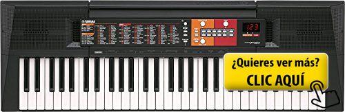 Yamaha PSR-F51 - Teclado portátil, color negro #instrumento