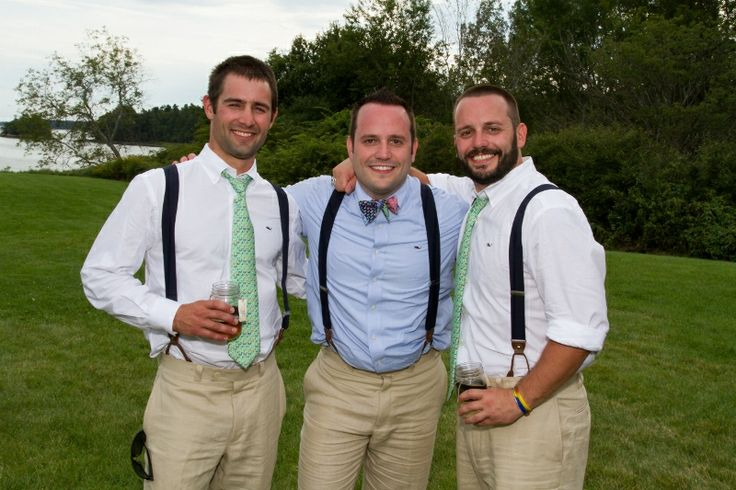 Brothers...vineyard vines wedding