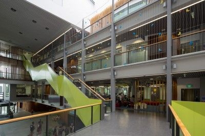 Auckland University – Wire Screen Fall Arrest System