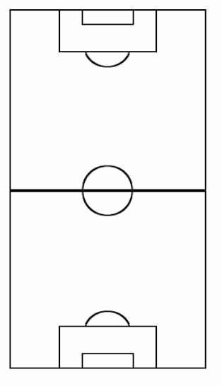 Printable Blank Football formation Sheets New 8v8