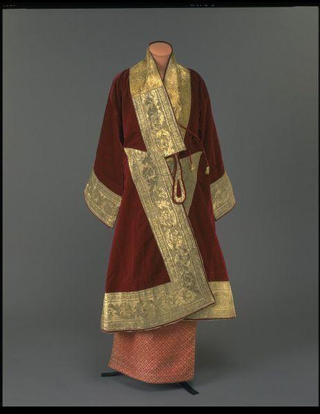 Minister's court costume   Mandalay, Burma   3rd quarter 19th century.