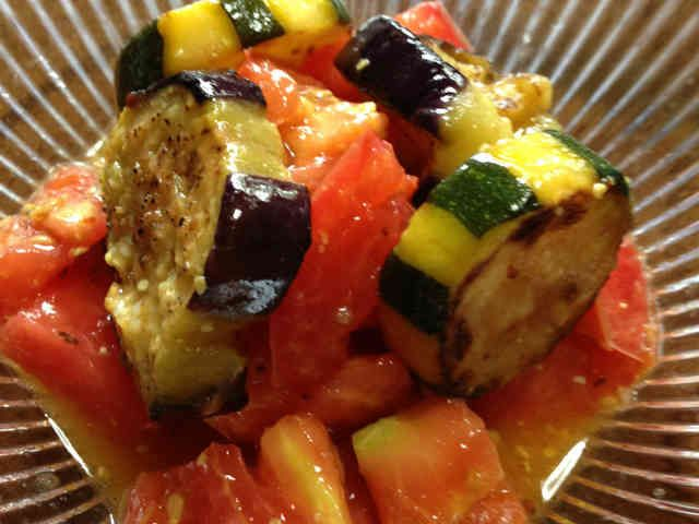 トマトなすズッキーニのさっぱりマリネ♡の画像