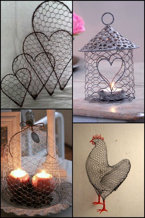 17 best ideas about chicken wire crafts on pinterest for Chicken wire craft ideas