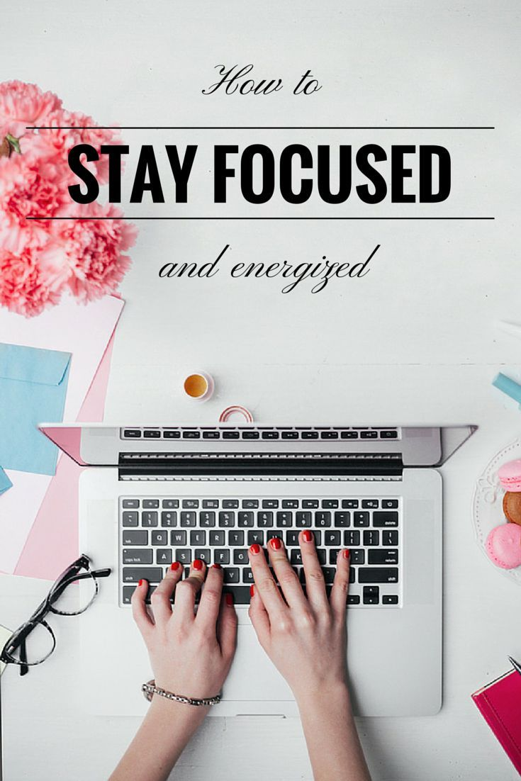These 4 tips in this article are super simple, and really do make it easier to stay focused when you don't feel like it. Sarah :)
