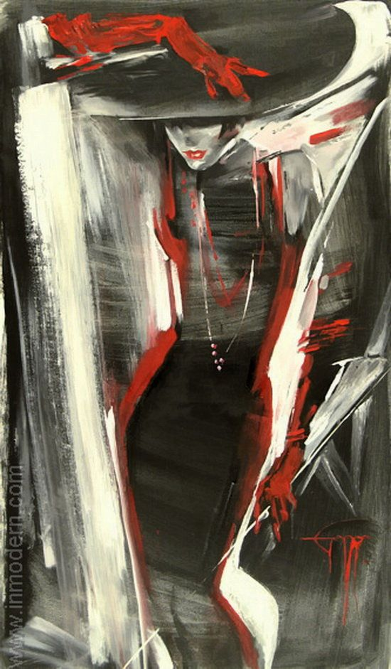 Nady Gepp: Art Work, Nady Gepp 252813 2529, Red, Gepp Illustrations, Posts, Fine Art, Painting, Nady Gepp This