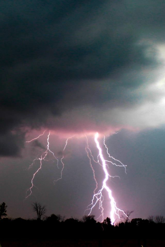 Storm in Petrolia, Ontario, Canada - photo by Curt Funk