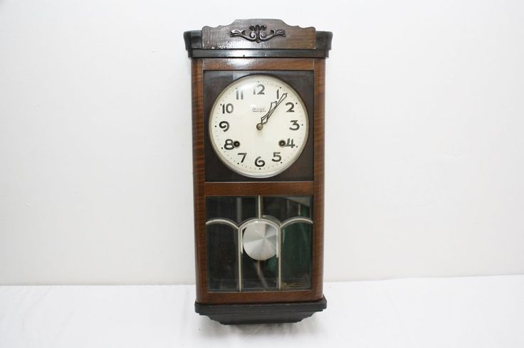 Rare Antique Meiji Nagoya Japan Wall Clock 1895 1905 Era No 744 Works Wall Clock Clock Vintage Clock
