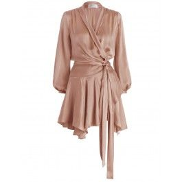 Sueded Robe Dress
