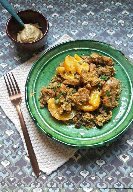 Very Easy...Kitchen: Bouchées de porc au miel et tahiné