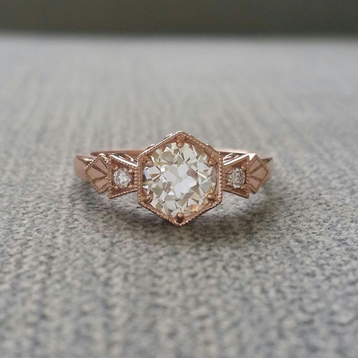 Unique Where to Buy Antique Engagement Rings Online on Etsy Emmaline Bride