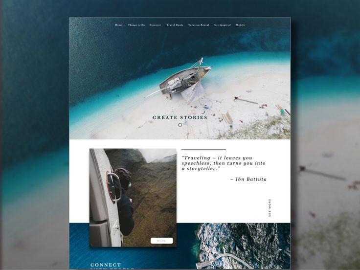 https://dribbble.com/shots/3837057-Memorabilia -  #design #ux #ui #layout #landing #full-width