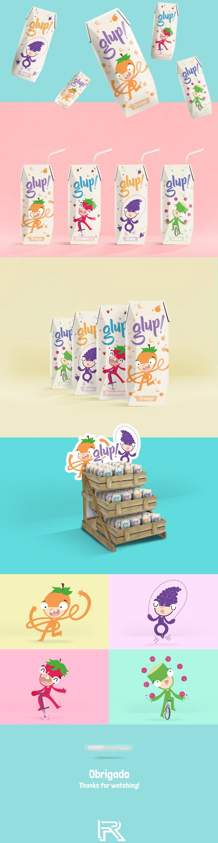Glup! (Student Project) on Packaging of the World - Creative Package Design Gallery