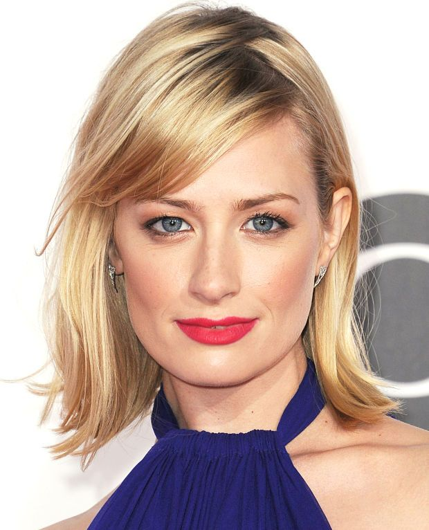 Beth Behrs' makeup in March 2015.
