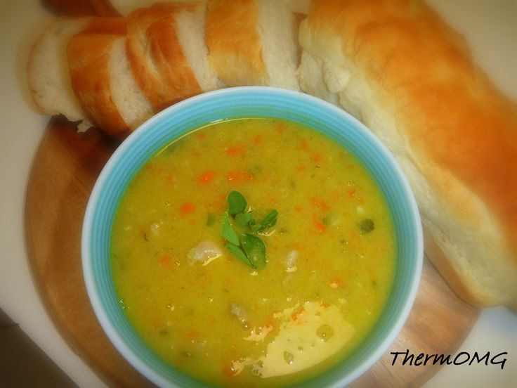 Chicken and Barley Soup — ThermOMG