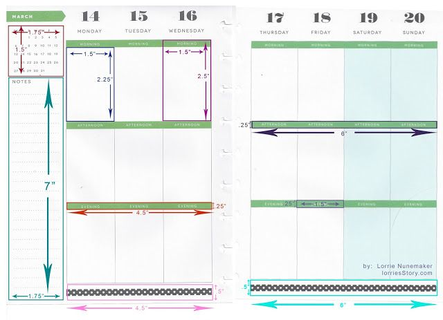 Lorrie's Story: Happy Planner Dimensions