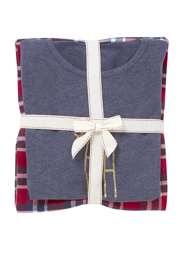 clothing at tesco f f oh deer slogan christmas pyjamas. Black Bedroom Furniture Sets. Home Design Ideas