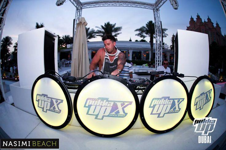 Pukka Up event at Nasimi Beach, Dubai! #nasimibeach #pukkaup x