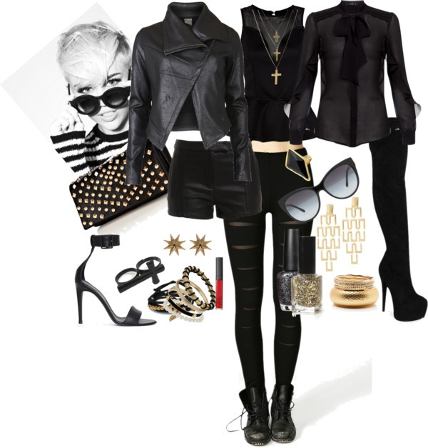 """Punk Chic Rihanna"" by sucarrin on Polyvore"