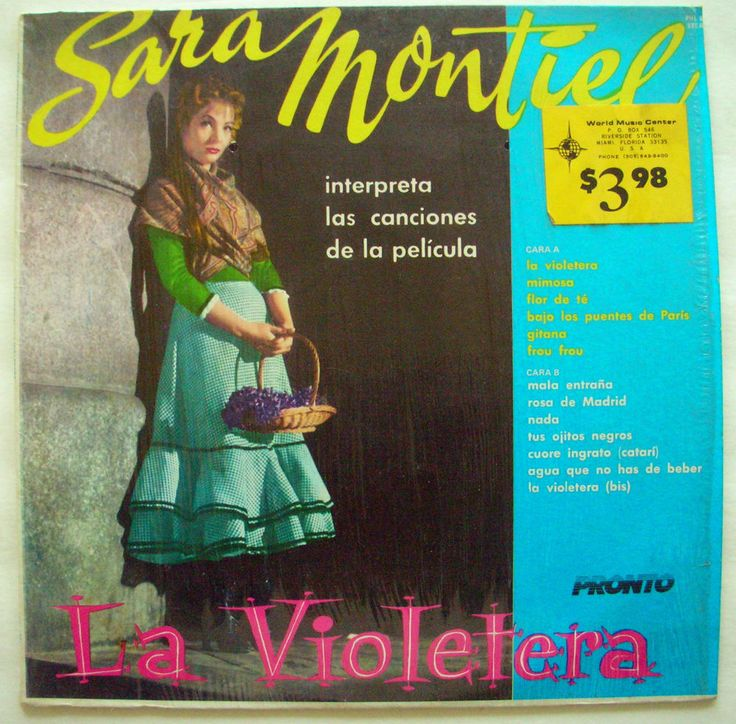 SARA MONTIEL LA VIOLETERA Wrapped