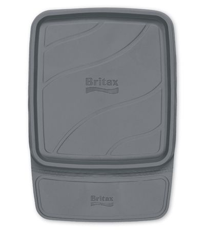 The Britax Vehicle Seat Protector offers an engineered, non-slip material for best-in-class car seat crash performance while providing protection to the vehicle seat from spills, debris, and compression.