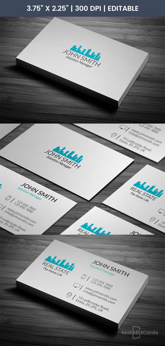 The Note Printing Business Cards Real Estate Business Cards Business Card Template