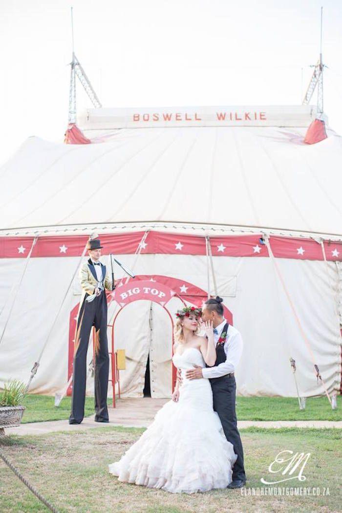 Circus Wedding via Kara's Party Ideas   KarasPartyIdeas.com (48)