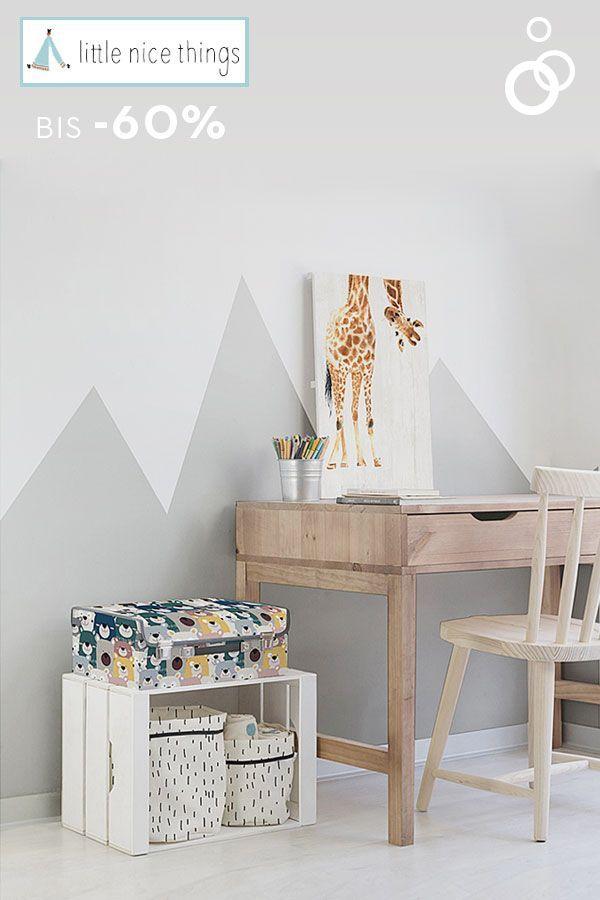 Süße Deko und Aufbewahrungsideen fürs Kinderzimmer von Little Nice Things gibt es jetzt bei limango bis zu -60%* günstiger ?