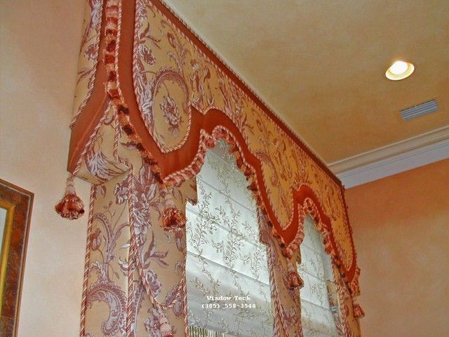 Upholstered Cornice Boards   Gallery :: Upholstered Cornices & Lambrequins :: Upholstered ...