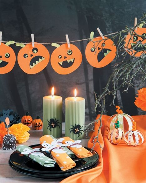Pynt op til Halloween