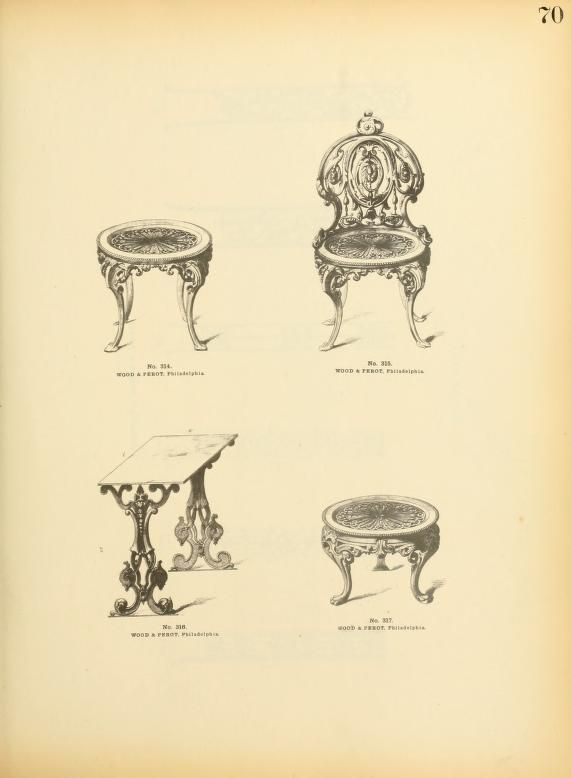Portfolio of original designs of ornamental iro...