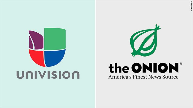 Univision invests in satirical news site The Onion. No joke. The investment is to help diversify and broaden it's appeal to Millennials. Onion Inc will still run independently but use Univision's resources to help with networking. Univision has also teamed up with other companies to reach out to different demographics.