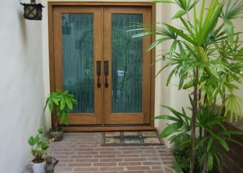 Glass Front Door Privacy
