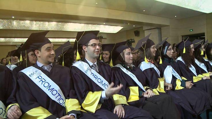 Remise des diplômes: Promotion 2012: ESCA Ecole de Management