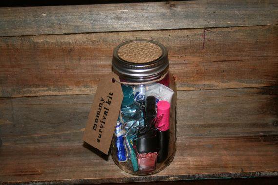 Mom Survival Kit Teacher Survival Kit Gift for Her Gift by AEGifts