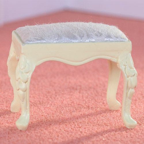 French-style Cream Stool From dheminis.com