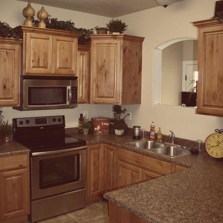 Glazed Knotty Alder Cabinets