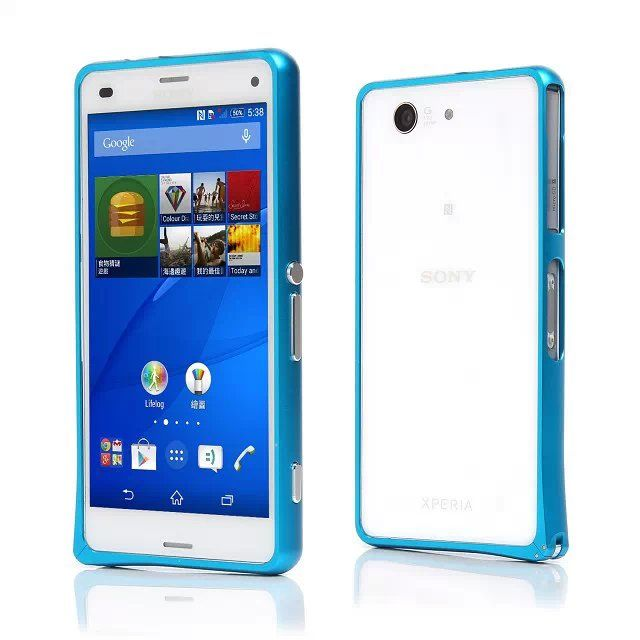 For sony xperia Z3 compact case Hippocampus Buckle Metal Alloy Aluminum Bumper Frame For Sony Xperia Z3 Compact Cover Z3 Mini #clothing,#shoes,#jewelry,#women,#men,#hats,#watches,#belts,#fashion,#style