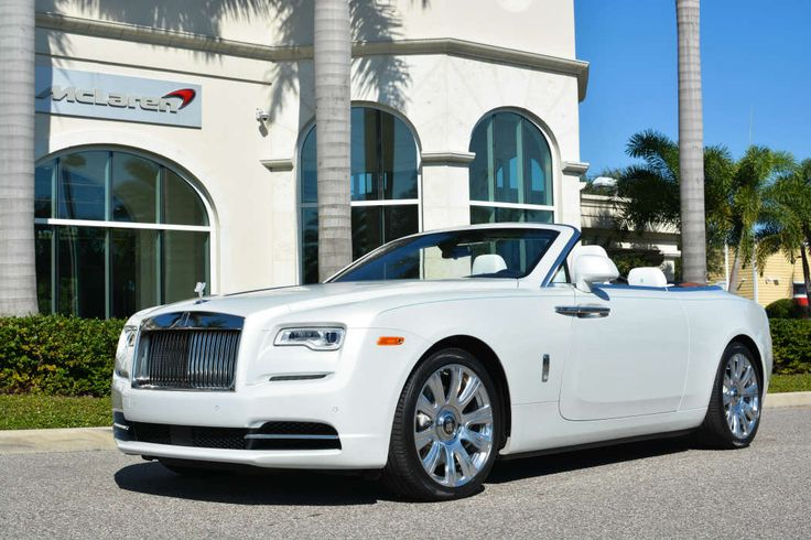 The Rolls-Royce Dawn was only just introduced to the world in September and now, Dimmitt Automotive Group in Florida has unveiled the car to a select group