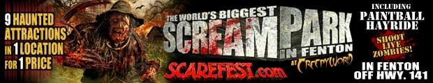 America's Biggest and Scariest Haunted House Screampark - Creepyworld St Louis Missouri