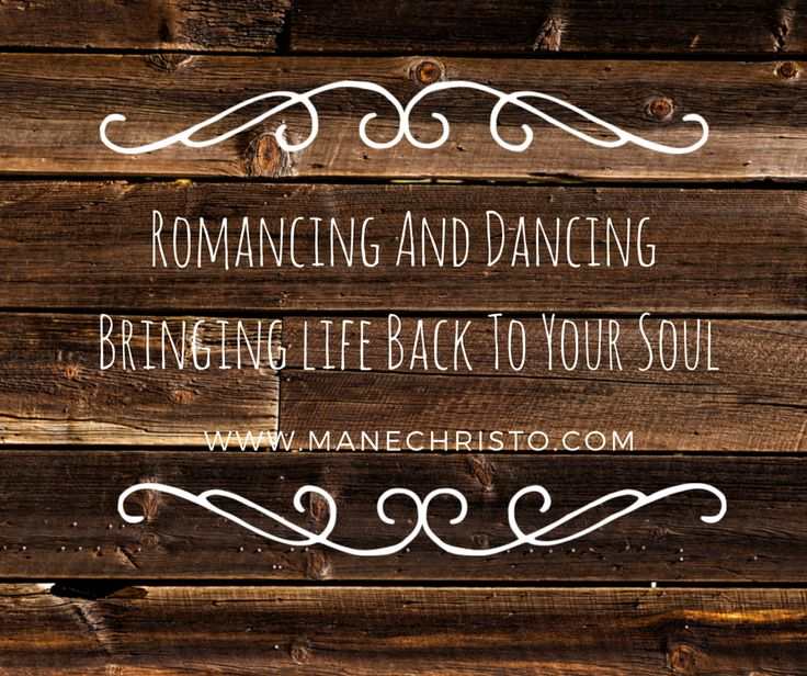 manechristo: Romancing And Dancing