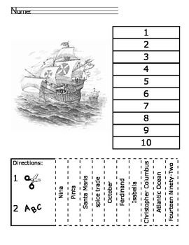26 best Columbus Day Worksheets/Printables images on